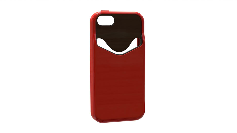 The iPhone 5 Card Case was the first product we developed for OnHand.